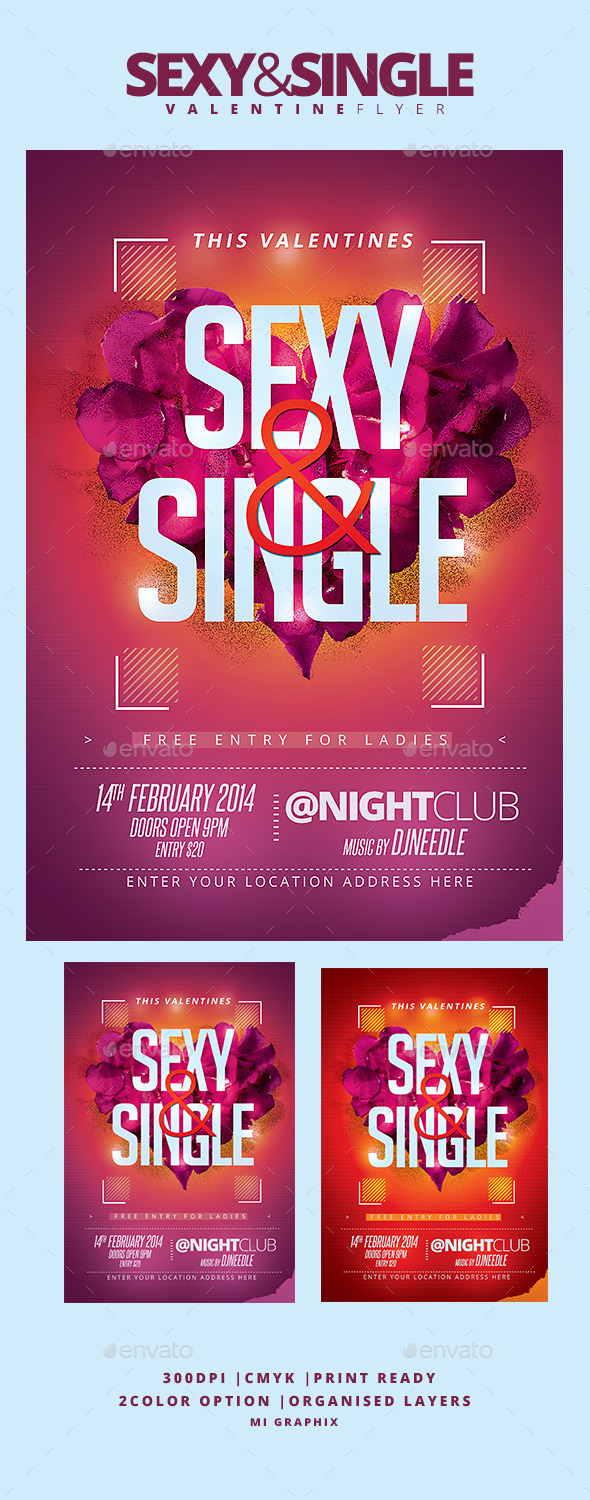 Sexy and Single - Clubs & Parties Events