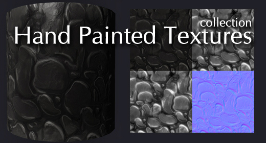 Hand Painted CG Textures