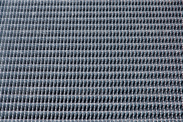Iron grid background - Stock Photo - Images