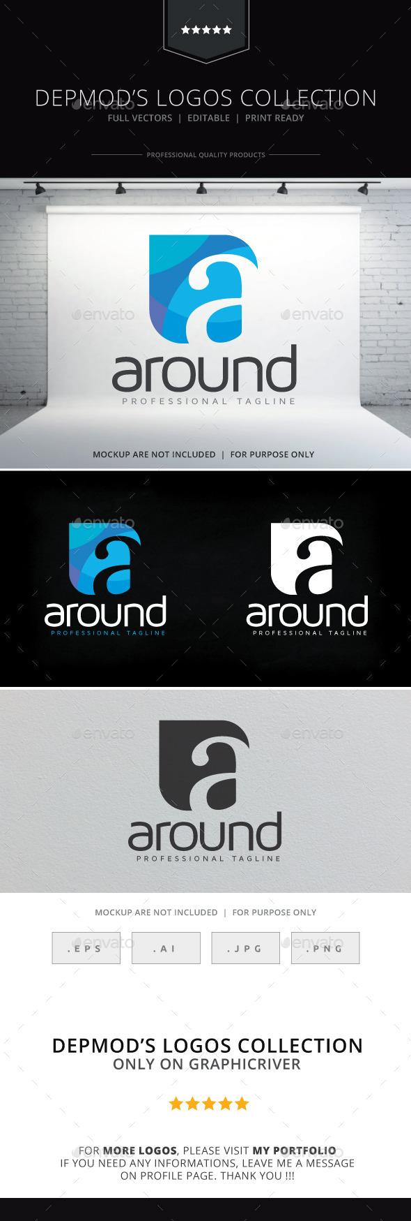 Around Logo - Letters Logo Templates