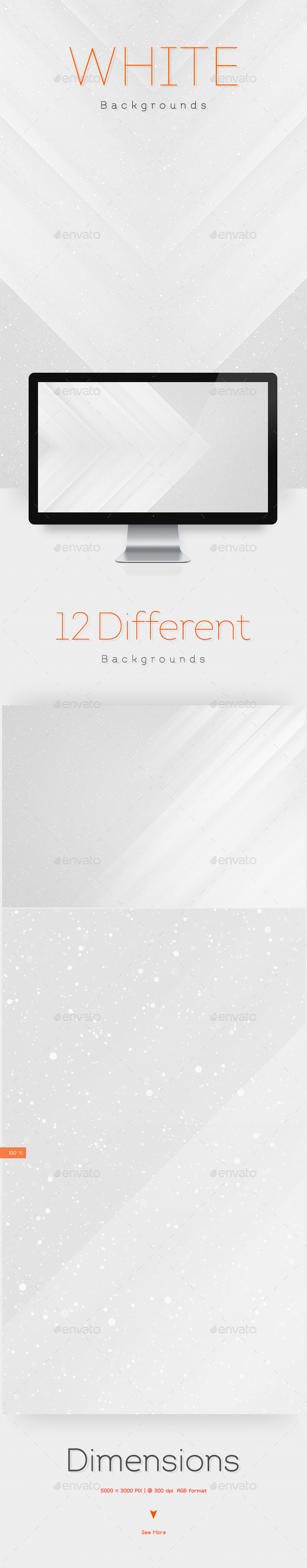 White Abstract Backgrounds V2 - Urban Backgrounds