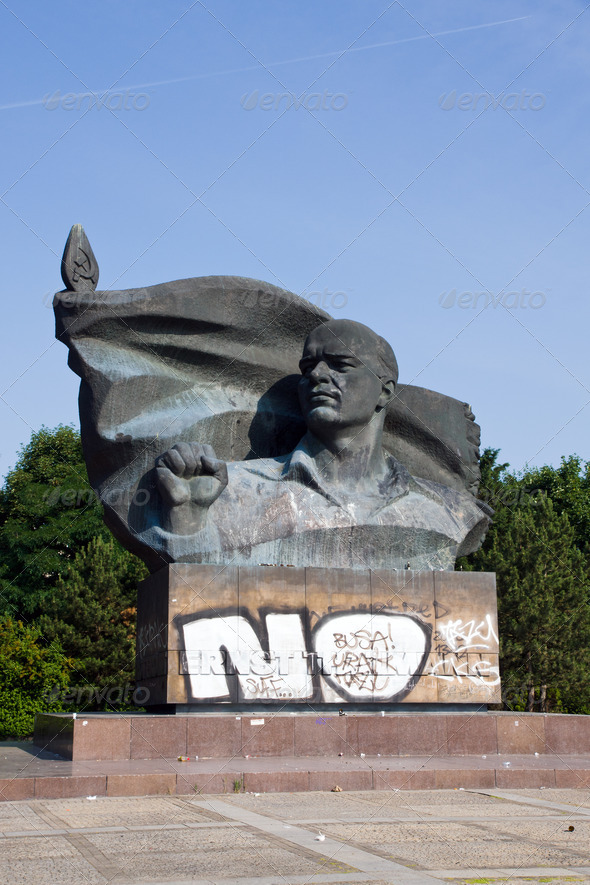 Monument of Thaelmann in Berlin - Stock Photo - Images