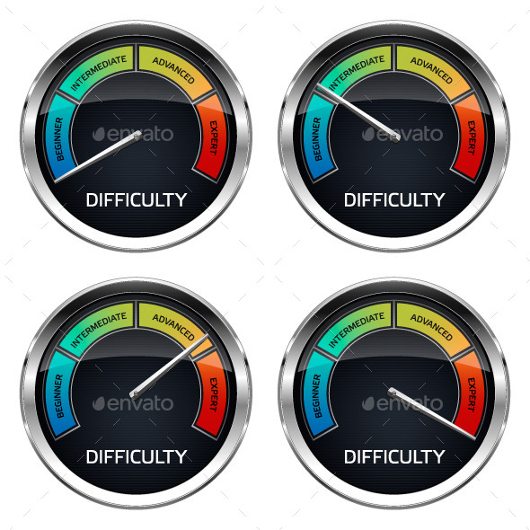 Realistic Difficulty Dashboard - Technology Conceptual