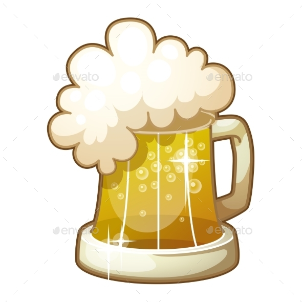 Mug of Beer - Objects Vectors