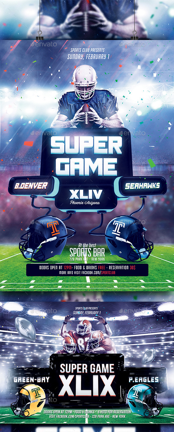 FootBall Flyer Bundle - Sports Events
