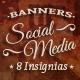 Social Media Banners - Insignias - GraphicRiver Item for Sale
