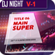 DJ Night  - VideoHive Item for Sale