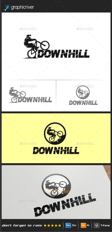 Downhill Logo Templates - Objects Logo Templates