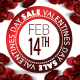 Valentines Sale Promotional Flyer Poster  - GraphicRiver Item for Sale
