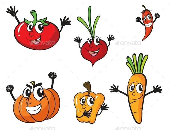 Various Vegetables - Organic Objects Objects
