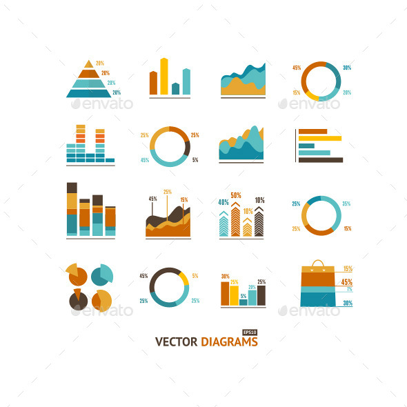 Infographic Graph Elements - Business Conceptual
