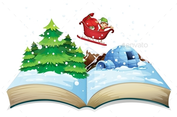 Winter Book - Christmas Seasons/Holidays