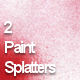 2 High-res Paint Splatter Textures - GraphicRiver Item for Sale