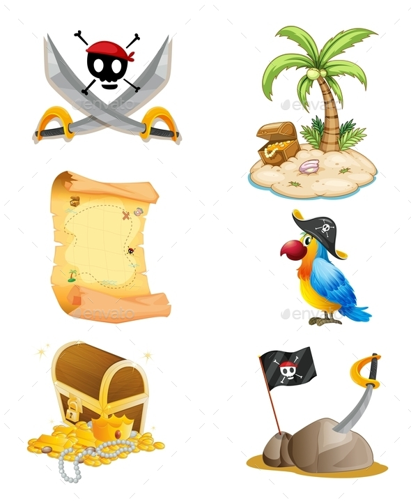 Pirate Things - Man-made Objects Objects