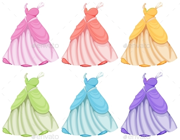 Dresses - Man-made Objects Objects