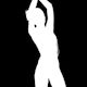 Silhouette Shadow Dancer 1 - VideoHive Item for Sale