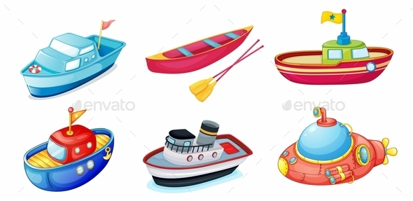 Various Ships - Man-made Objects Objects