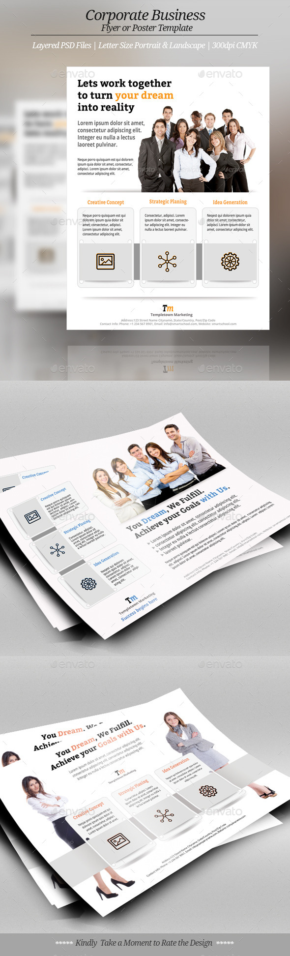 Corporate or Business Flyer Templates - Corporate Flyers