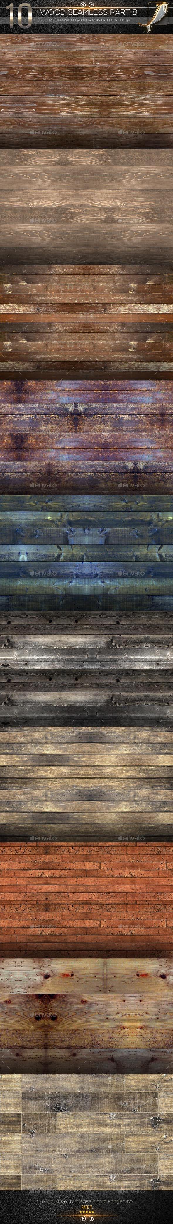 10 Wood Seamless Texture Part 8 - Wood Textures