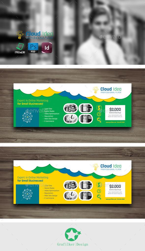 Cloud Idea Cover Templates - Facebook Timeline Covers Social Media