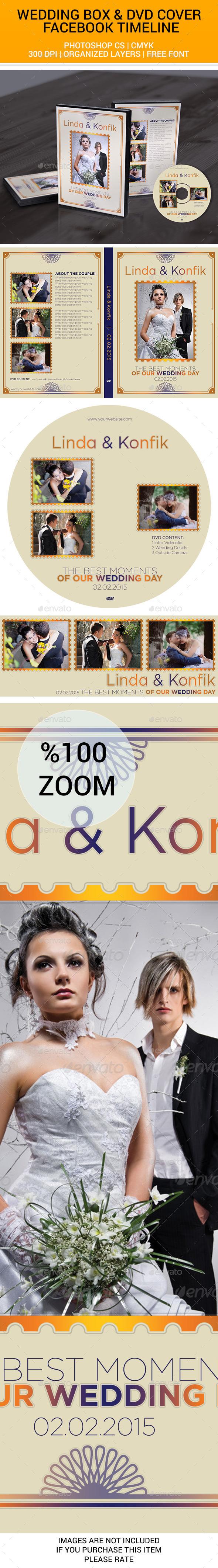 Wedding DVD Cover & CD Label v11 - CD & DVD Artwork Print Templates