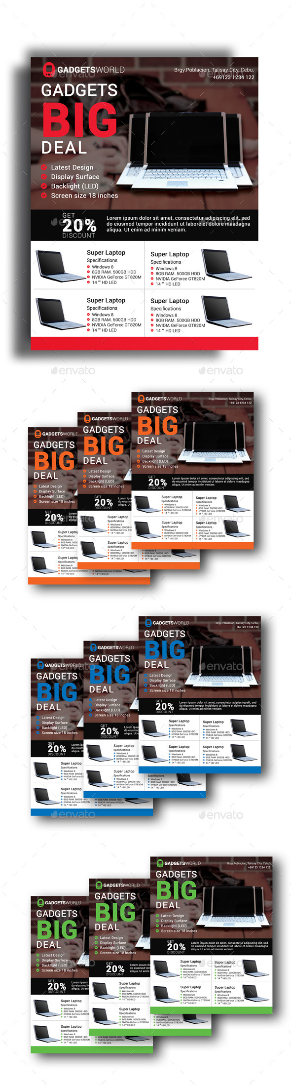 Gadget Deal Flyer - Corporate Flyers