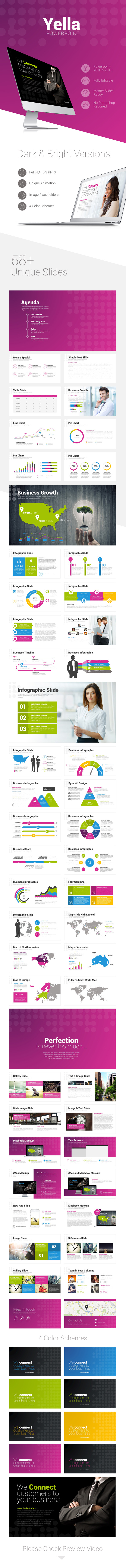 Yella Powerpoint Template - PowerPoint Templates Presentation Templates