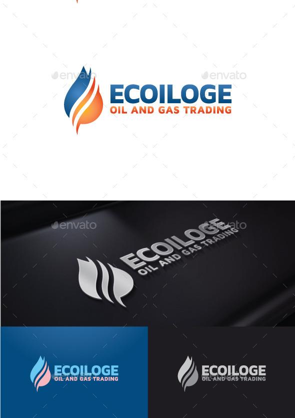 Eco Oil - Symbols Logo Templates