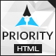 Priority | Multipurpose HTML5 Template - ThemeForest Item for Sale
