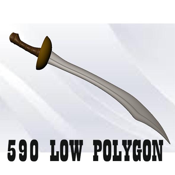 Pirate Sword - 3DOcean Item for Sale