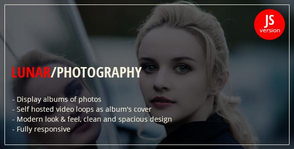 Lunar - jQuery Photography Portfolio - CodeCanyon Item for Sale