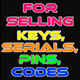 Opencart - Serialkeys, Pins & Codes Sale Extension