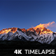 Sunset over Lhotse in Himalaya - VideoHive Item for Sale