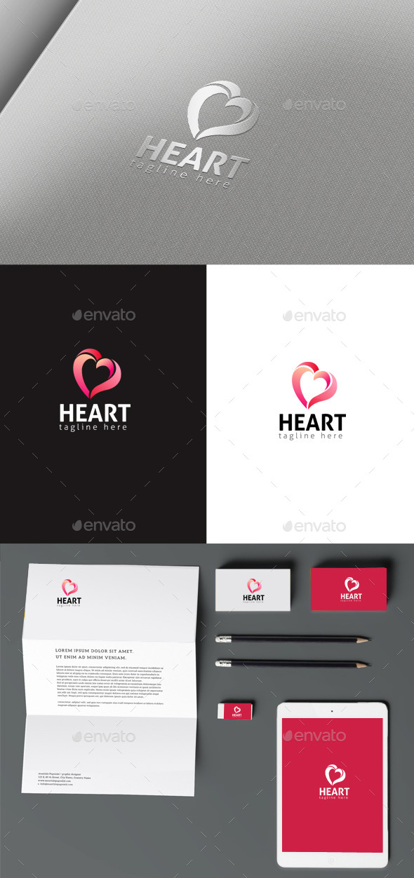 Love Logo - Symbols Logo Templates