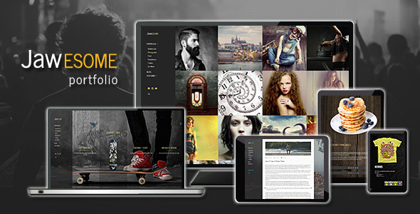 JaWesome – Creative WordPress Portfolio Theme