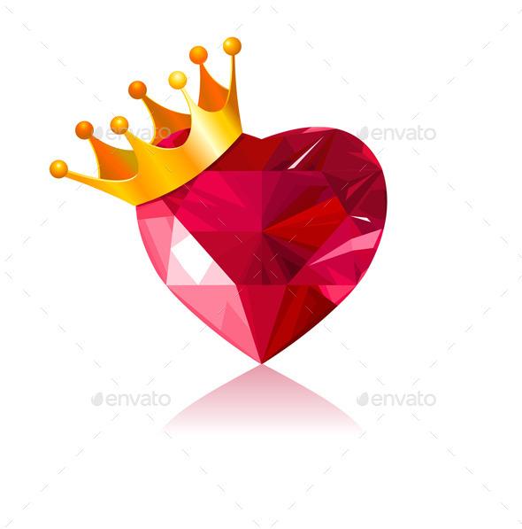 Crystal Heart - Valentines Seasons/Holidays