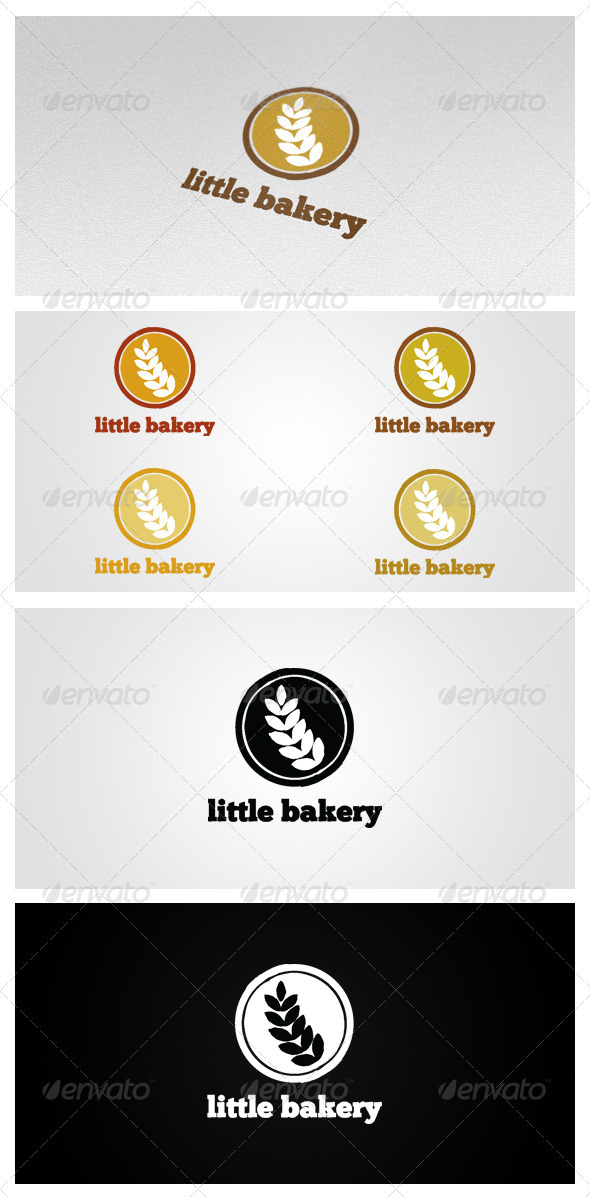 Little Bakery - Vector Abstract