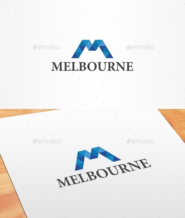 Melbourne Logo Template - Letters Logo Templates