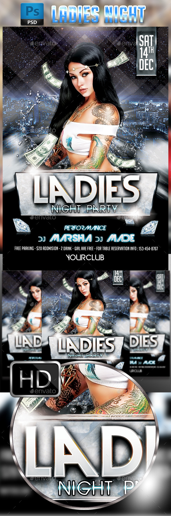 Ladies Night Party #3 - Clubs & Parties Events