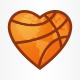Basketball Fan Logo Template