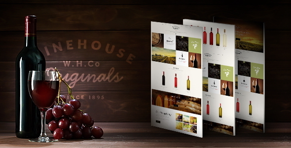 Wine House | Winery & Restaurant Theme