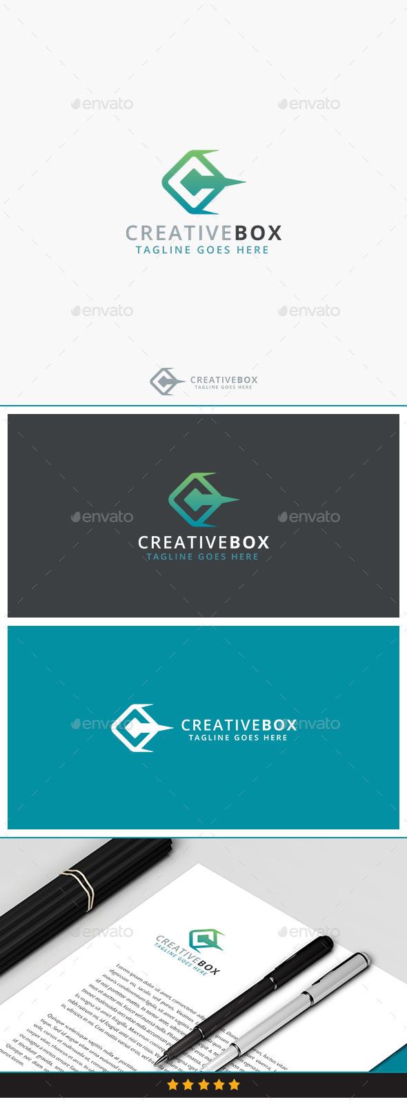 Creative Box Logo - Symbols Logo Templates