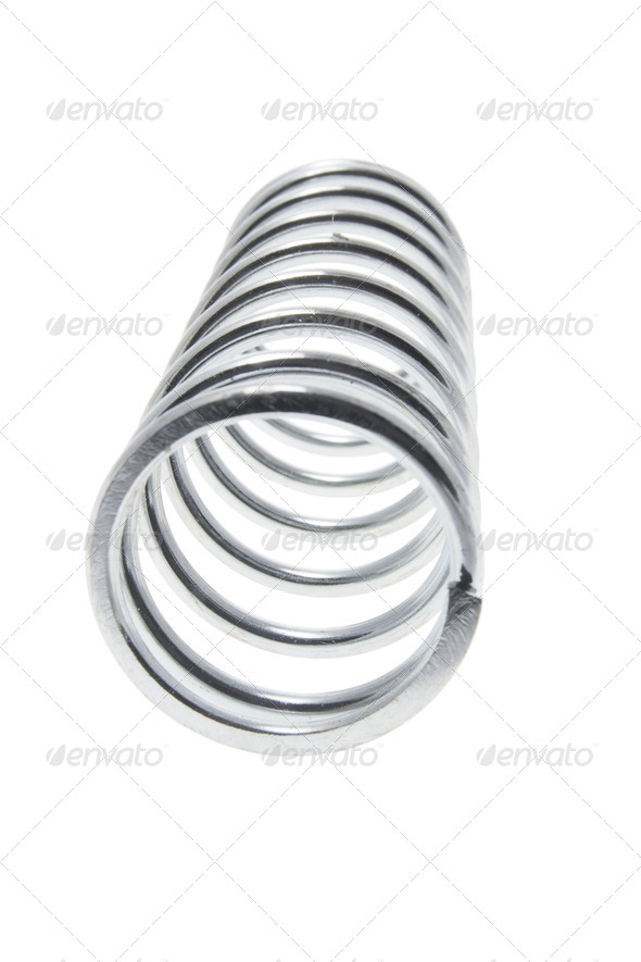 Metal Coil - Stock Photo - Images