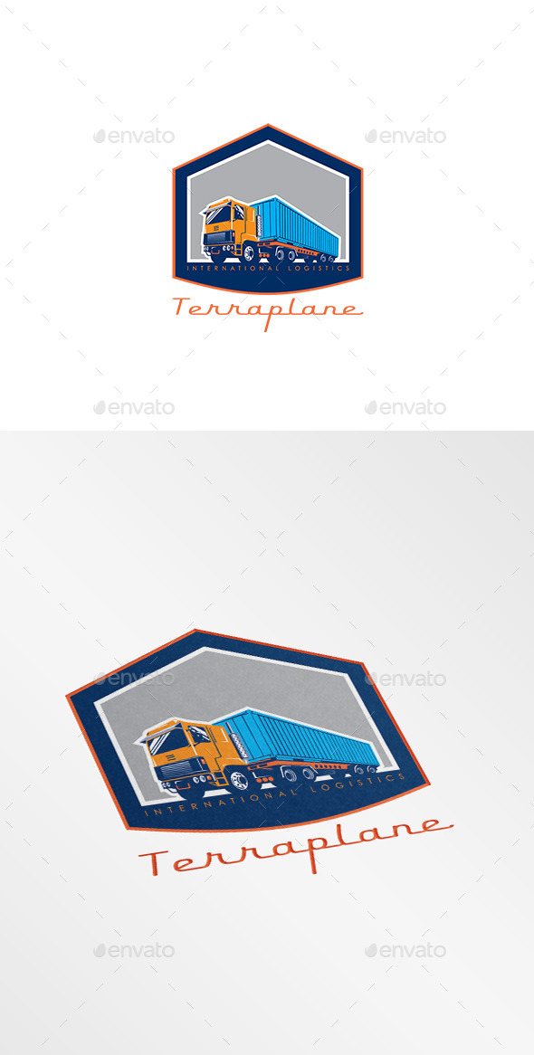 Terraplane International Logistics Logo - Objects Logo Templates