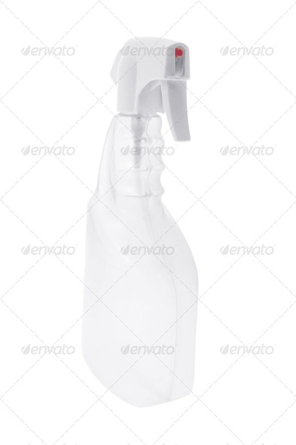 Plastic Spray Bottle - Stock Photo - Images