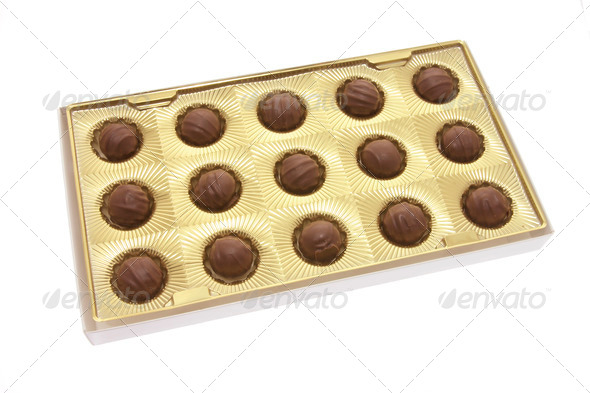 Box of Chocolates - Stock Photo - Images