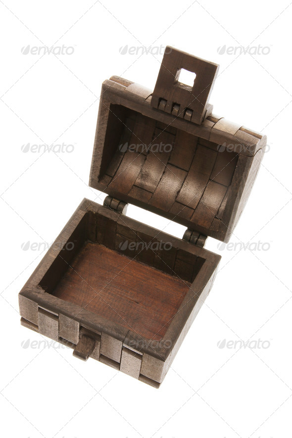 Wooden Treasure Chest - Stock Photo - Images