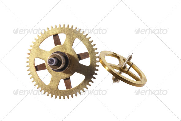 Clock Gear Wheels - Stock Photo - Images