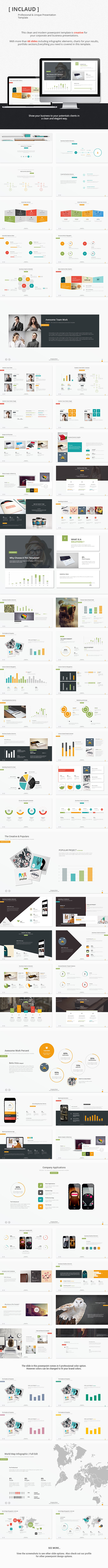Claude - Clean & Professional Template - Creative PowerPoint Templates