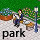 Pixel art park set - GraphicRiver Item for Sale